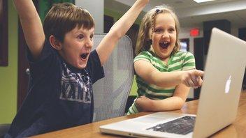 thuiswerken met schreeuwende kinderen